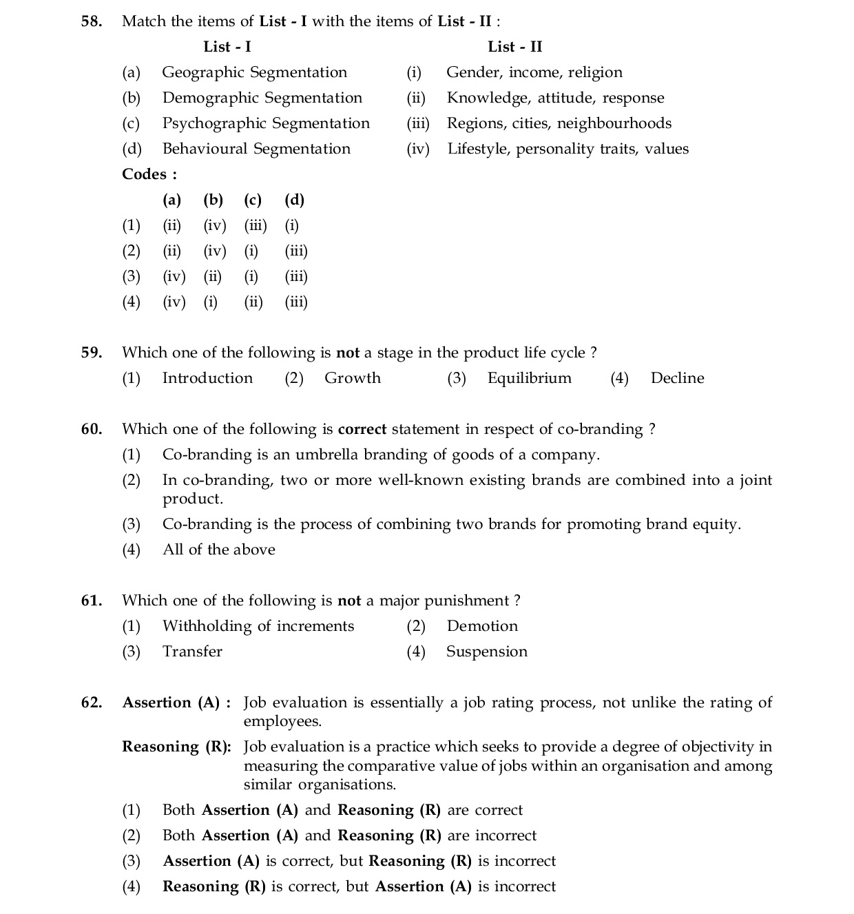 CBSE UGC NET Commerce Paper-3 June 2015 Mock Test
